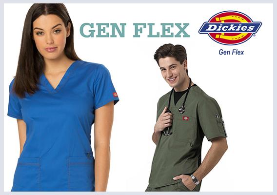 gen flex scrubs