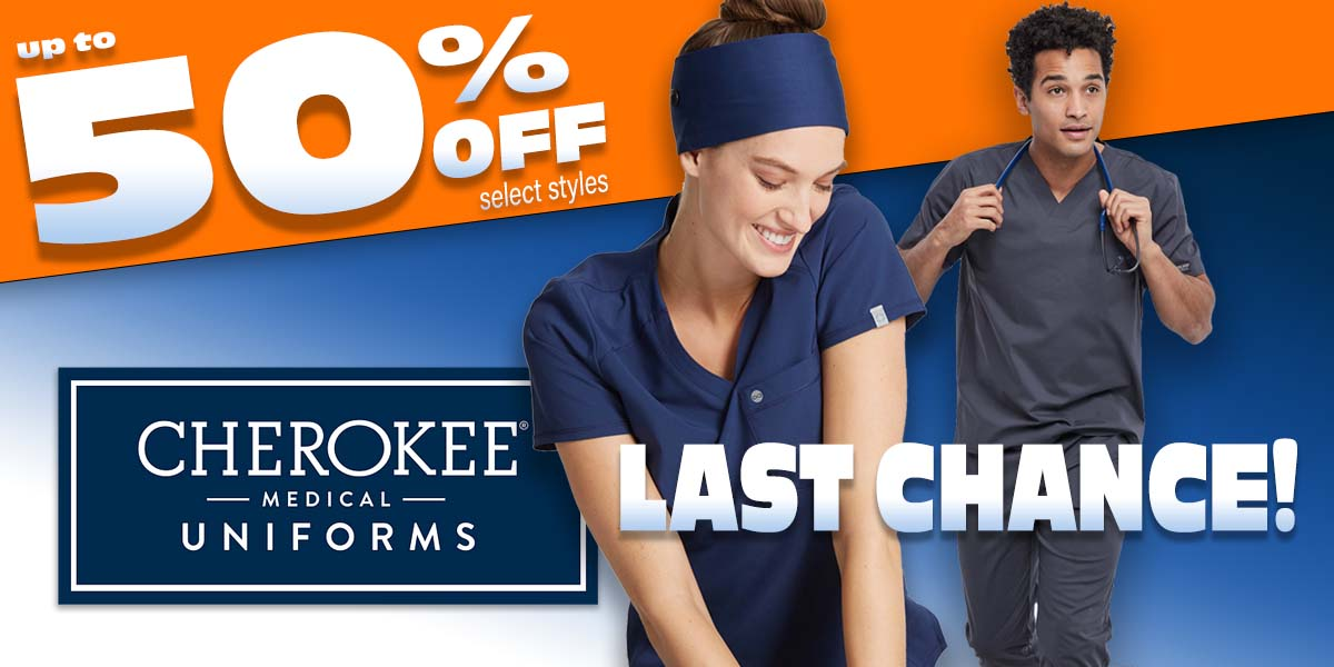 Shop Cherokee uniforms and more - up to 50% OFF select styles