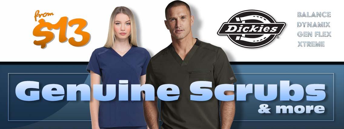 Dickies scrubs for men and women - Shop Dickies Uniforms