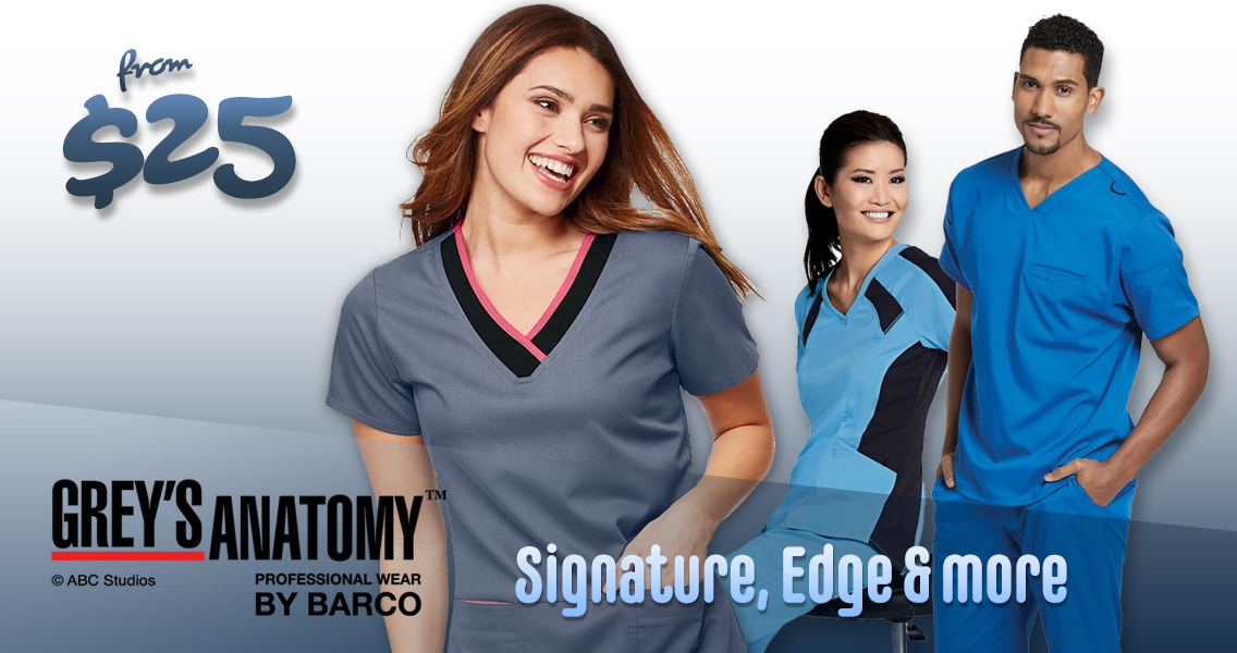 Shop and buy Grey's Anatomy Medical uniforms and scrubs or men and women