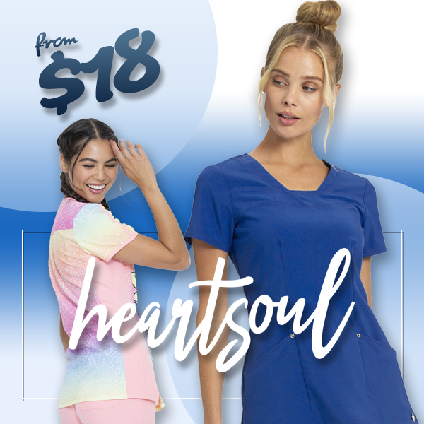 heartsoul scrubs, prints, bags, socks and more!