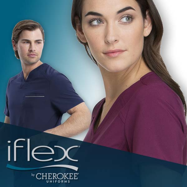 Shop IFlex scrubs, tops, pants, jackets and prints