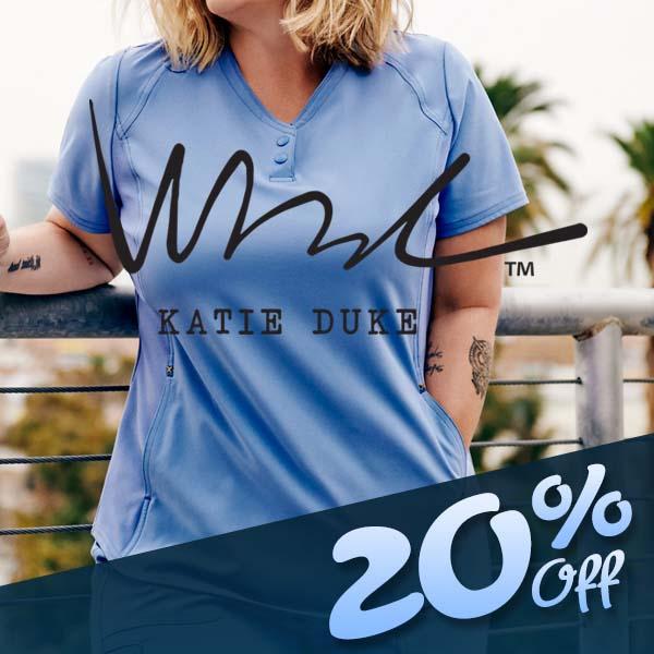 Shop Katie Duke Scrubs!