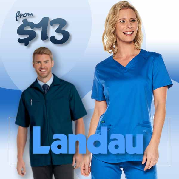 Shop and buy Landau brand uniforms and scrubs for men and women