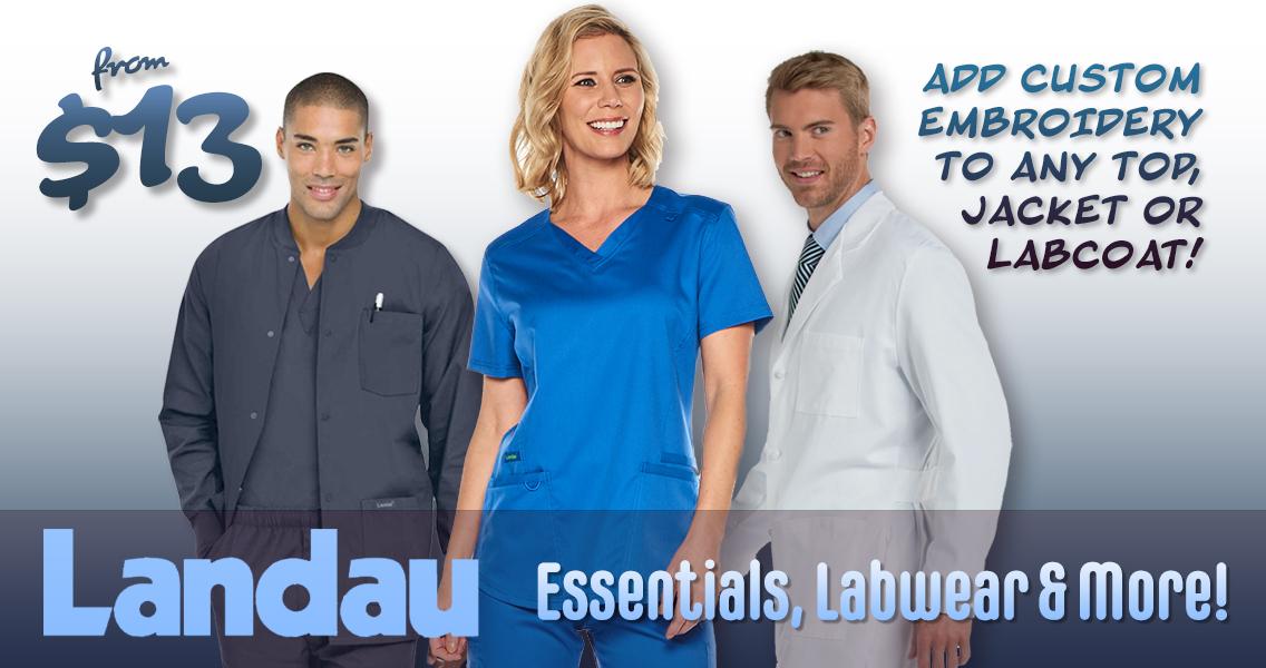 Shop authentic Landau brand uniforms, scrubs, labwear and more