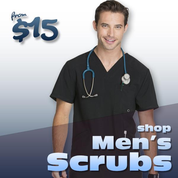 Shop men's scrubs
