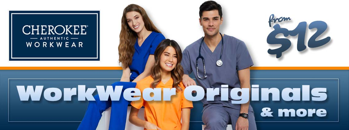 Shop cherokee workwear originals and more from Cherokee Workwear. Men's and women's scrubs in your favorite colors and sizes. Shop online at a1scrubs.com and save!