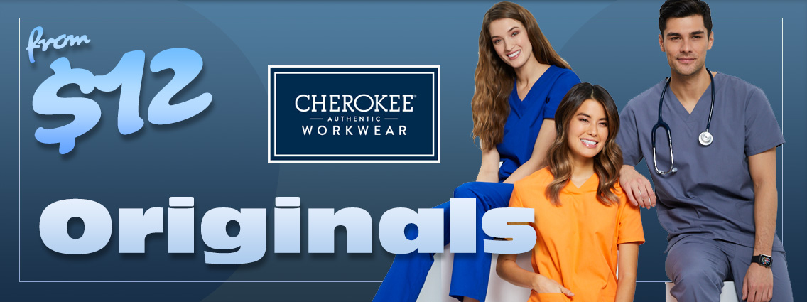 Shop authentic Cherokee WorkWear scrubs - from $12