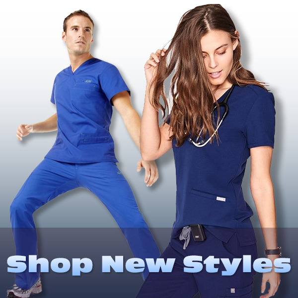 Shop NEW uniforms and scrubs