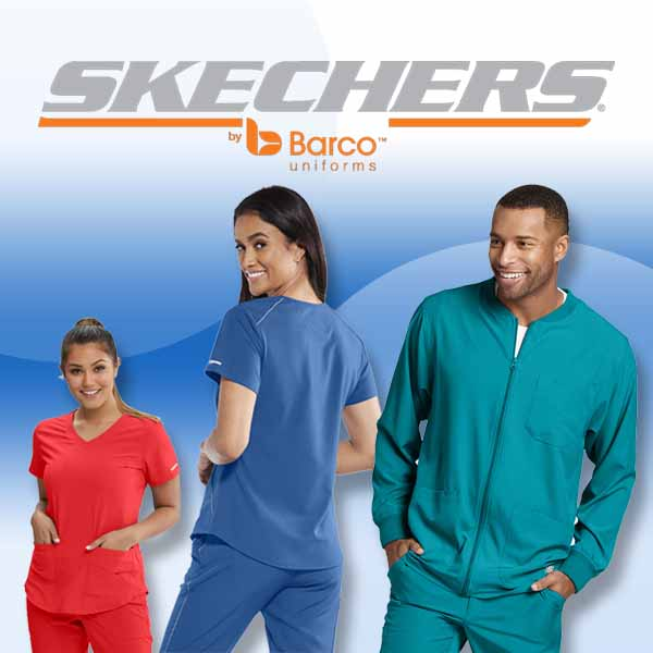 Skechers uniforms and scrubs for en and women
