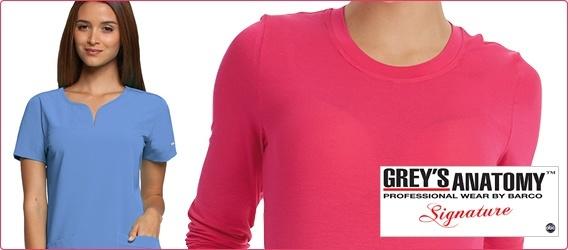 Grey's signature scrubs