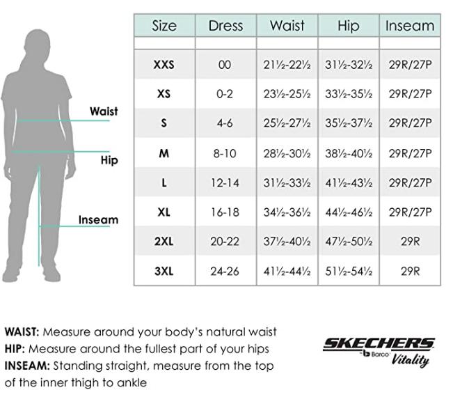 Skechers NEW Spirit 4 Pocket Top