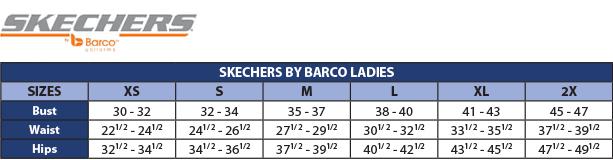 SKT021 Skechers 3 Pocket Print V Neck Top