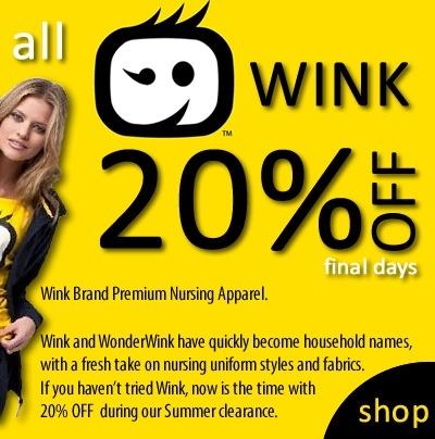 wink sale