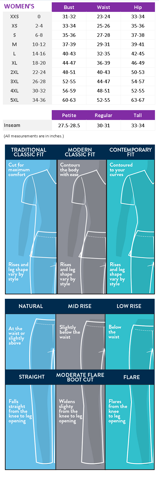 Tech NEW Mid Rise Straight Leg Drawstring Pant - Antimicrobial w/Fluid Barrier