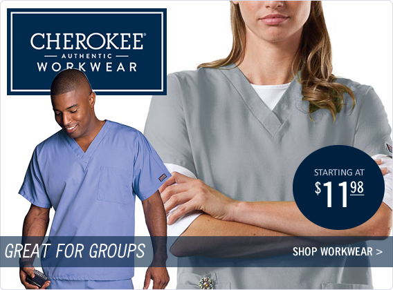 authentic cherokee workwear