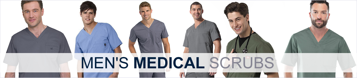 mens medical scrubs