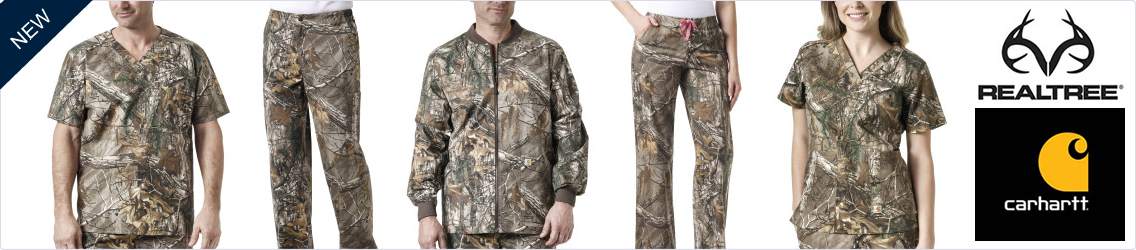 realtree camo scrubs by carhartt