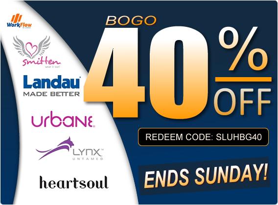 BOGO 40% OFF sale ends Sunday