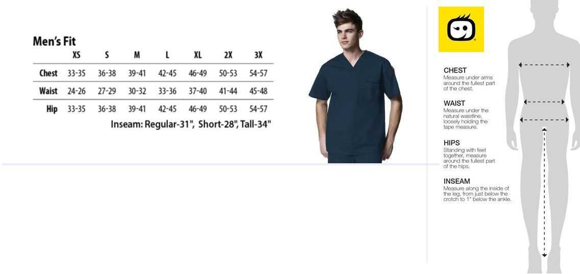 wonderwink scrubs for men