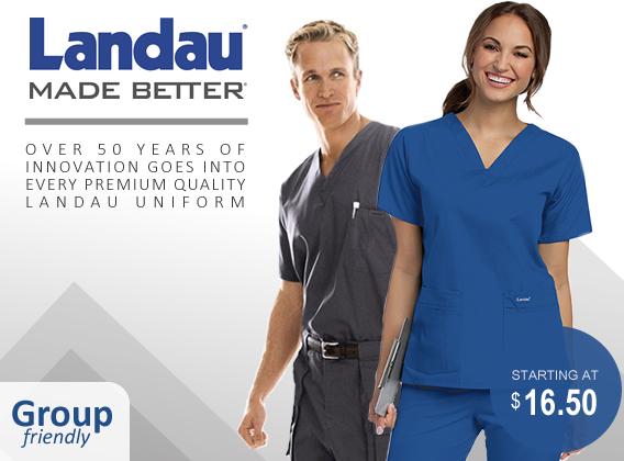 landau brand uniforms and scrubs