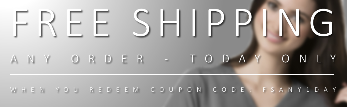 free shipping any order today only