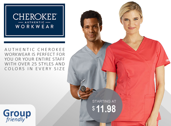 authentic cherokee workwear uniforms and scrubs