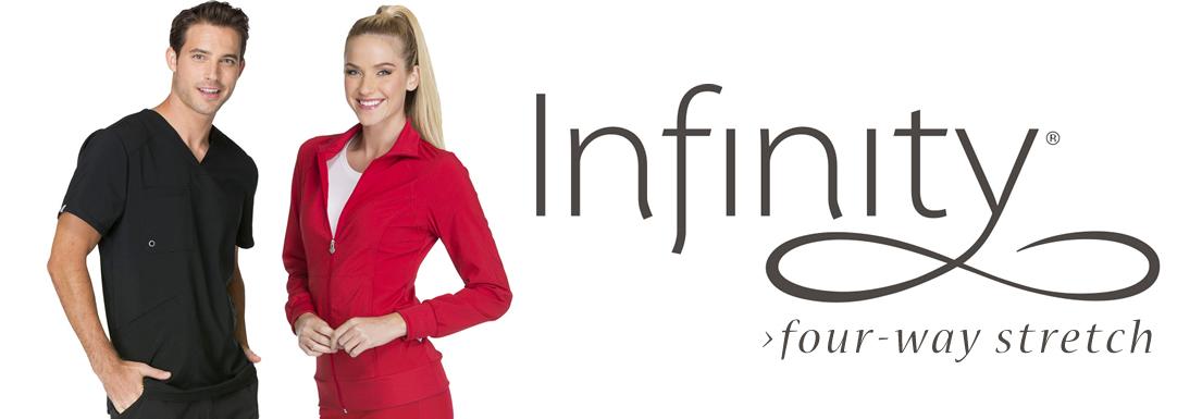 Infinity four-way stretch scrubs by Cherokee