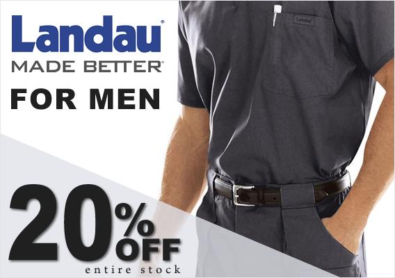 Landau scrubs for Men - 20% OFF