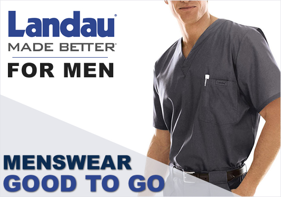 Try Landau Men's Scrubs