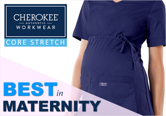 core stretch maternity scrubs