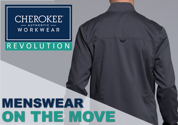 Try Cherokee Men's Revolution Scrubs