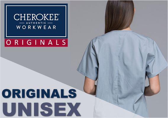 cherokee workwear unisex scrubs - originals