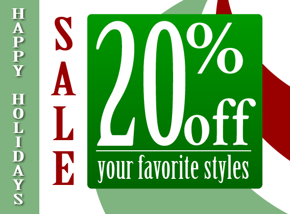 All of your favorite styles on sale!
