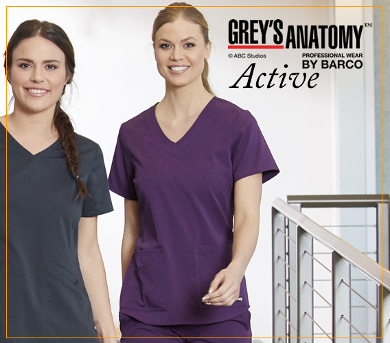 Grey's Anatomy Active scrubs