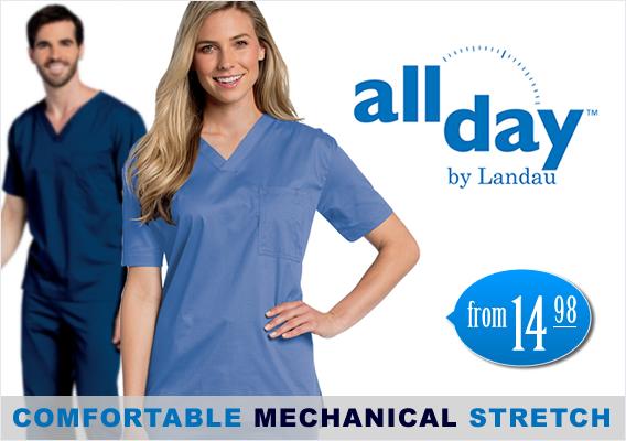 all day medical scrubs