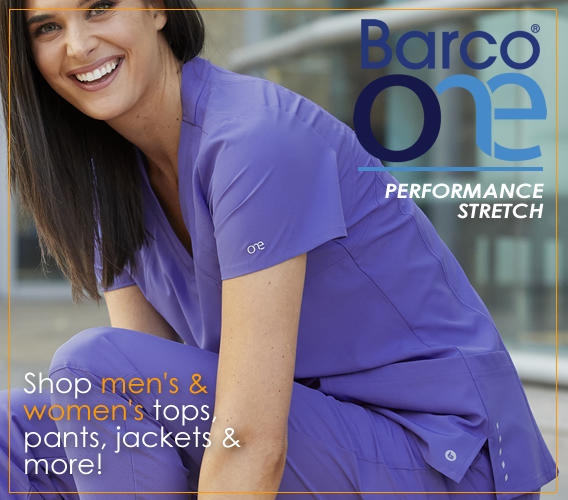 Barco one performance stretch scrubs