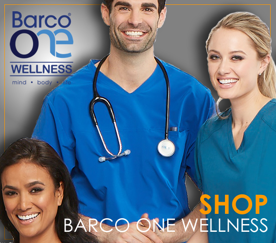 Barco one wellness uniforms and scrubs