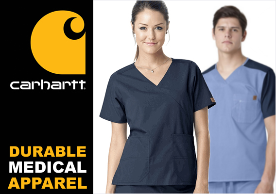 carhartt nursing scrubs - medical apparel