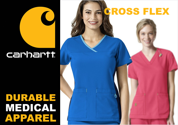 carhartt cross flex nursing uniforms and scrubs