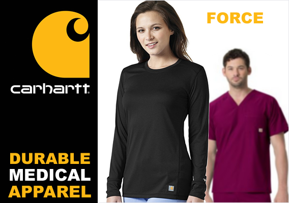carhartt force scrubs