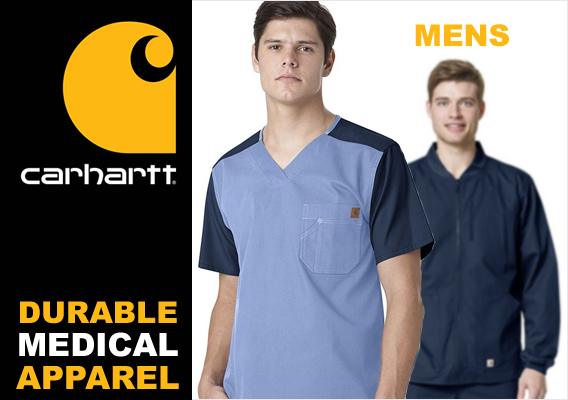 carhartt men's medical uniforms and scrubs