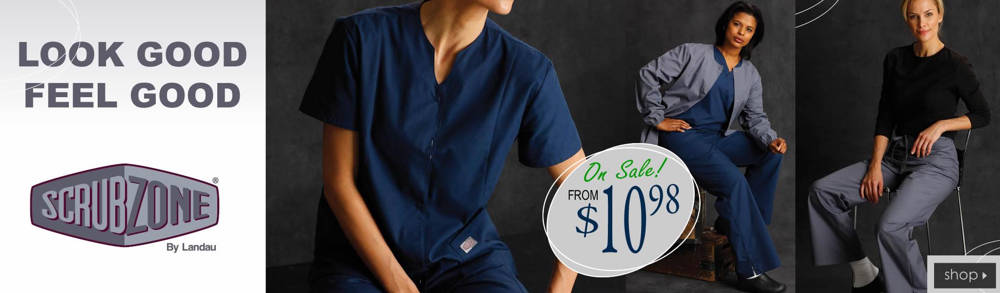 Landau Scrub Zone scrubs from $10.98 - get yours!