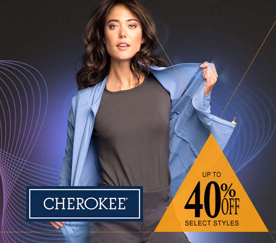Shop Cherokee scrubs - now up to 40% OFF