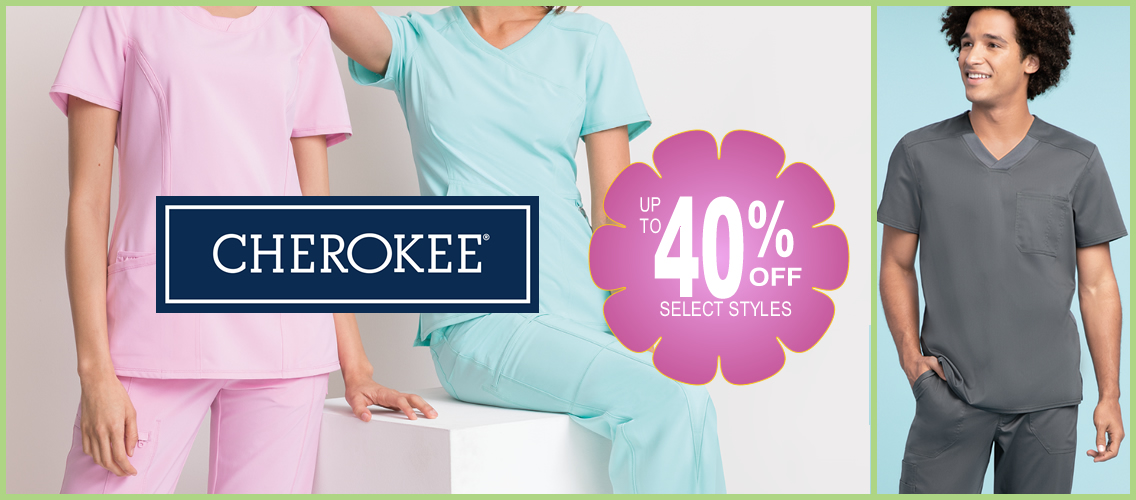 Cherokee scrubs - up to 40% OFF