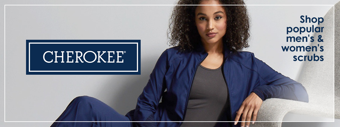 Shop Cherokee medical scrubs  - a wide variety of men's and women's nursing uniforms and scrubs
