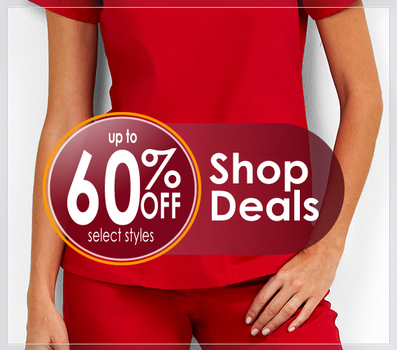 Shop nursing scrubs deals here!  Men's and women's clearance scrubs and accessories up to 60% OFF