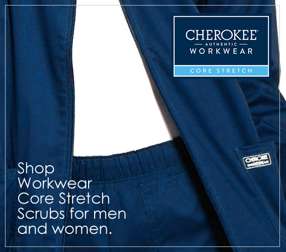 Shop authentic Cherokee workwear core stretch scrubs for men and women