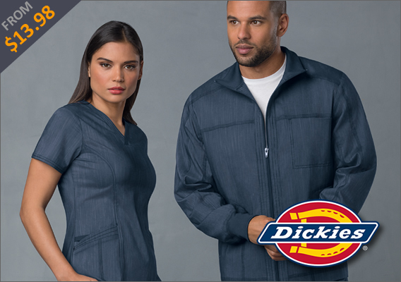 Dickies medical uniforms and scrubs!