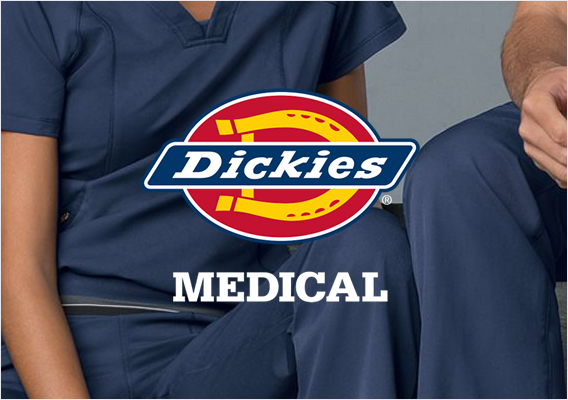 dickies medical scrubs